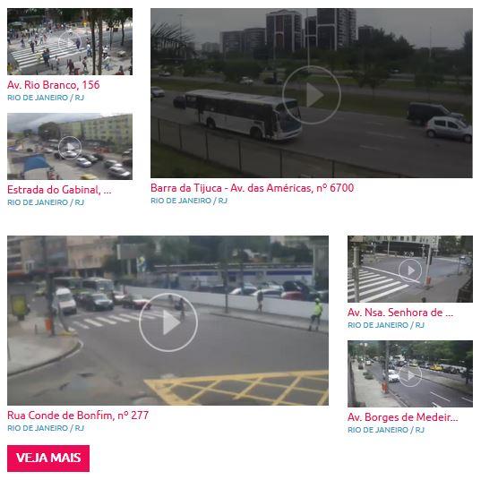 Real tempo rio da linha cameras em vermelha cet Câmeras ao