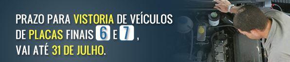 DETRAN RJ / Prazo de Vistoria de Veículos com Placas final... Consultar Multas Rio de Janeiro, Concurso Detran 2018 / 2019
